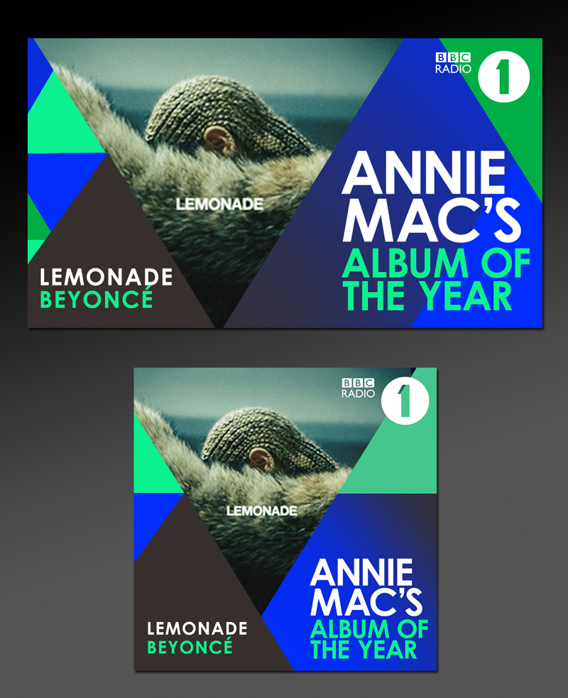 Annie Mac Radio One Social Media overview design